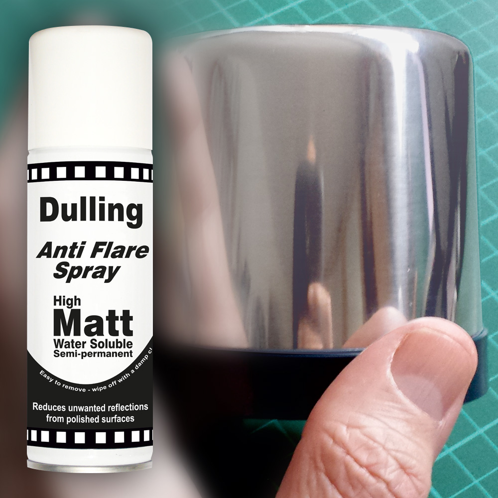 Dulling / Anti flare spray