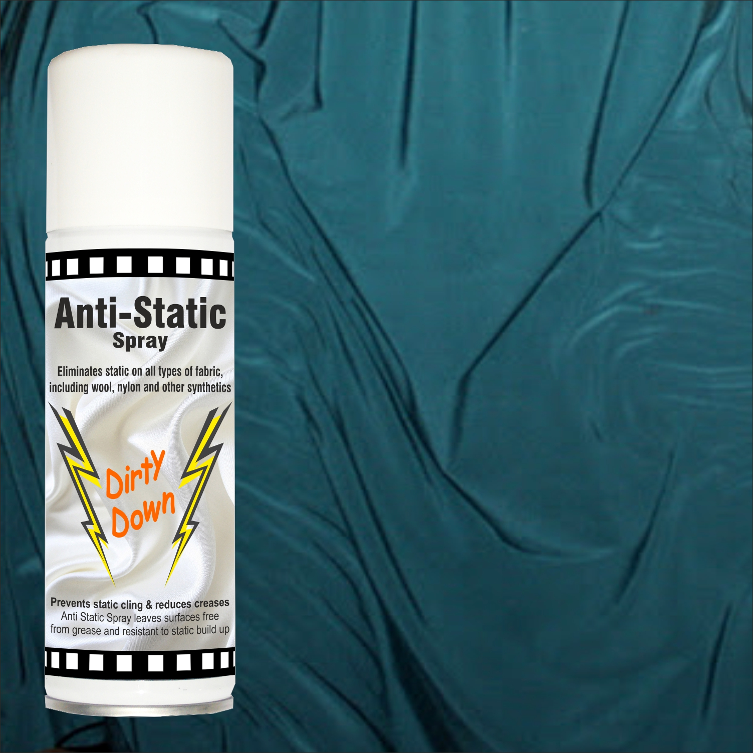 Anti-static spray for fabrics